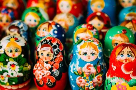Russian Matryoshka (nesting) dolls
