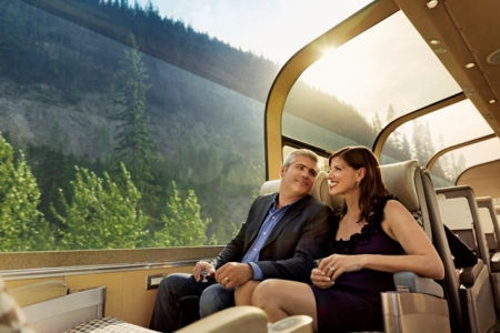 The Canadian Rail journey