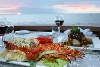 The Sunset dinner cruise in the Silver Star package includes a lobster dinner upgrade option