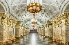 Stunning metro rail stations in Moscow