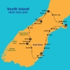 South Island road map
