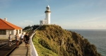 Take in spectacular ocean views from Byron's famous lighthouse