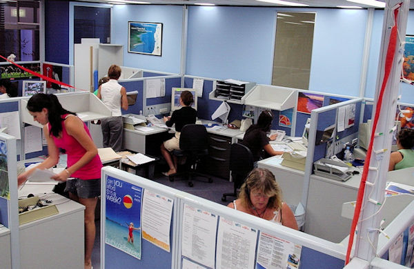 Australian Escapes Call Centre